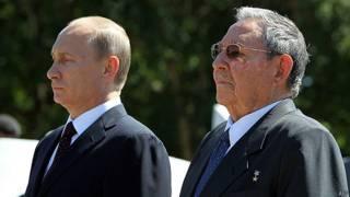 Putin y Castro