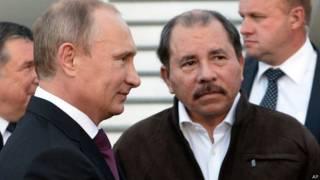 Путин и Ортега