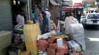 मीरानशाह बाज़ार तालिबान उत्तरी वज़ीरिस्तान पाकिस्तान