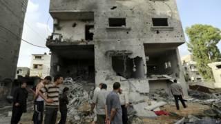 Casa en Gaza