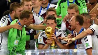 फ़ुटबॉल विश्व कप 2014 चैंपियन जर्मनी