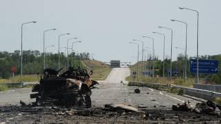 Близ луганского аэропорта