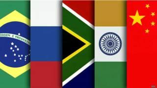 ब्रिक्स देशों के राष्ट्रध्वज