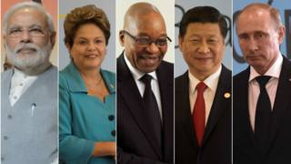 Líderes dos países dos Brics | Foto: BBC