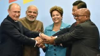 Reunião dos BRICs em Fortaleza (AFP)