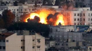Bombardeo a Gaza