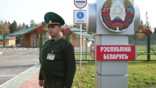 Белорусский пограничник