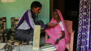 भारत, डॉक्टर, गांव