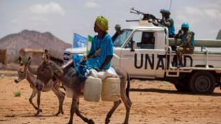 Askari wa kuweka amani wa UNAMID Darfur