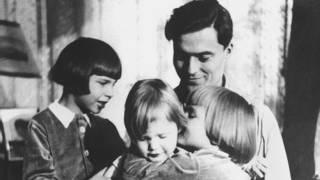 परिवार के साथ स्टफनबर्ग