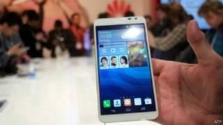 هاتف ذكي من انتاج هواوي الصينية