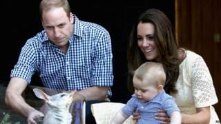 剑桥公爵夫妇和乔治王子