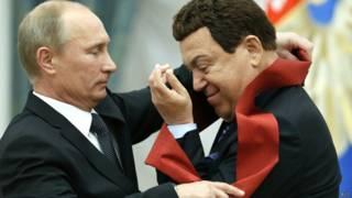 Путин и Кобзон