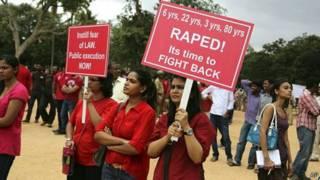 बलात्कार विरोधी प्रदर्शन