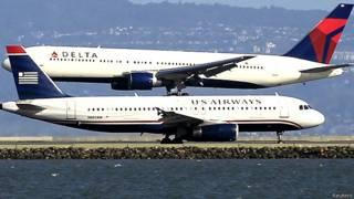 अमरीकी विमानन कंपनियों के जहाज