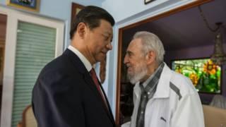 Castro y Xi