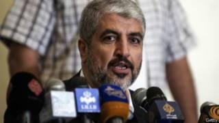 El líder de Hamas, Khaled Meshaal.