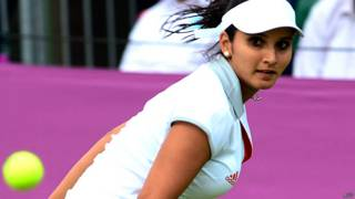 टेनिस खिलाड़ी सानिया मिर्ज़ा
