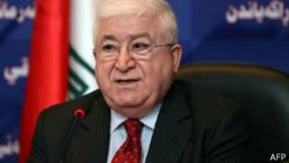 Shugaban kasar Iraqi Fuad Masum