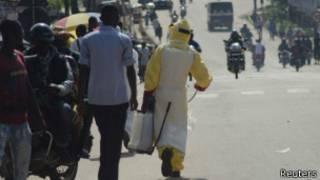 Ebola imaze guhitana abantu barenga ibihumbi bine