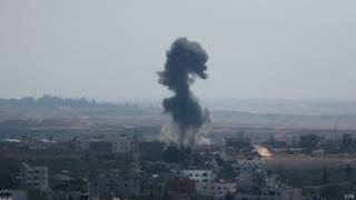 ofensiva em Gaza