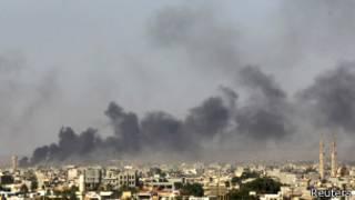 Birnin Benghazi na kasar Libya