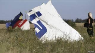 एमएच-17 विमान हादसा स्थल