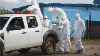 Ebola yadutse muri Afurika y'Uburengerazuba mu kwezi kwa kabiri