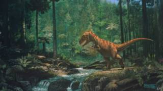 صورة ديناصورات منقرضة