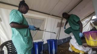 Центр тестирования на вирус Эбола