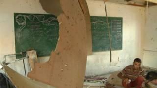 sekolah di gaza