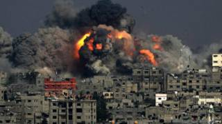 Hare-haren Isra'ila a Gaza