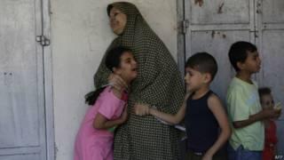 Civis em Gaza (AFP)