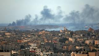 Gaza bombardeo