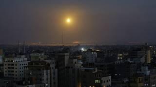 Gaza de noche