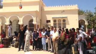 लीबिया से निकली भारतीय नर्सें