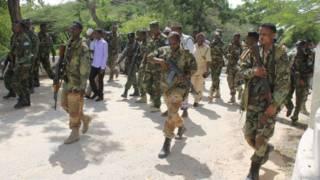 سربازان سومالی