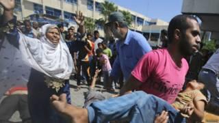 Ataque contra escuela de la ONU en Gaza