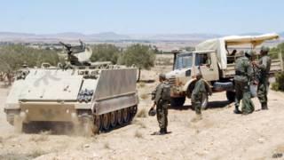 قوات من الجيش التونسي