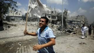 I Gaza ubu hari agahengwe nyuma y'ihagarikwa ry'imirwano