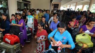 लीबिया से लौटीं भारतीय नर्सें, 5 अगस्त