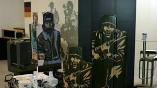 Мишени Rheinmetall на выставке в Москве