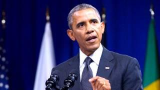 Obama atangaza ko Amerika igihe gushora imiriyaridi 14 z'ama dollar muri Afrika