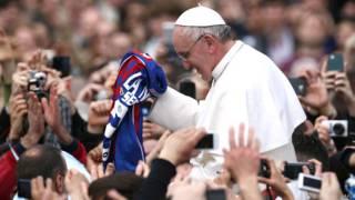 Papa Francisco hincha San Lorenzo