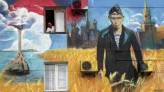 Граффити с Путиным