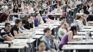 英国中学考生