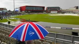 चौथे टेस्ट मैच के दूसरे दिन बारिश