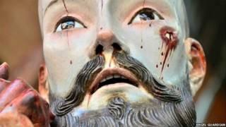 मैक्सिको, ईसामसीह की प्रतिमा