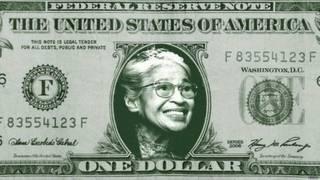 रोज़ा पार्क्स, अमरीकी डॉलर