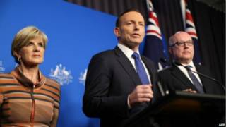 رئيس وزراء استرالي توني أبوت